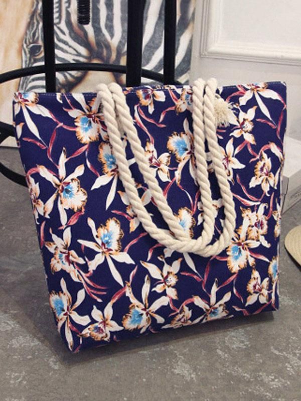 Bohemia Canvas Floral Bag