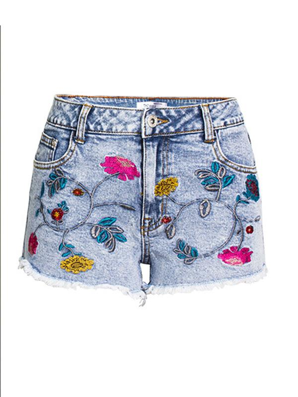 Bohemia Embroidered Short Bottoms