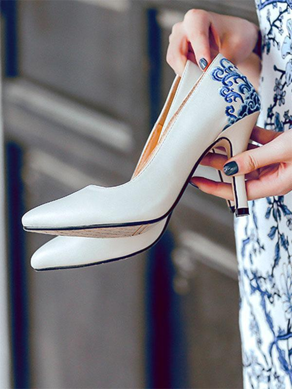 Pretty National Pointed Heels