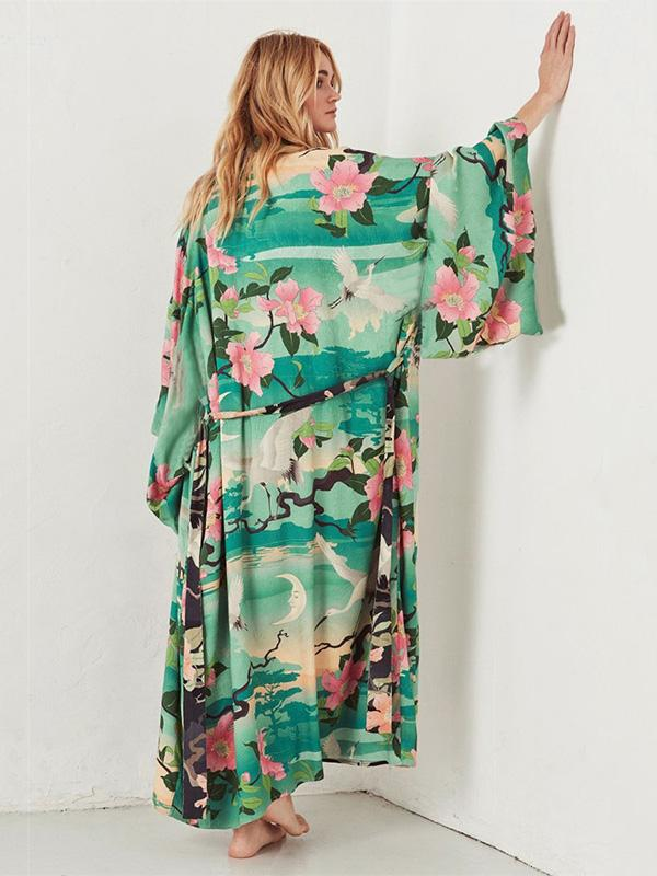 Japanese Style Loose Plus Size Cover-ups Swimwear