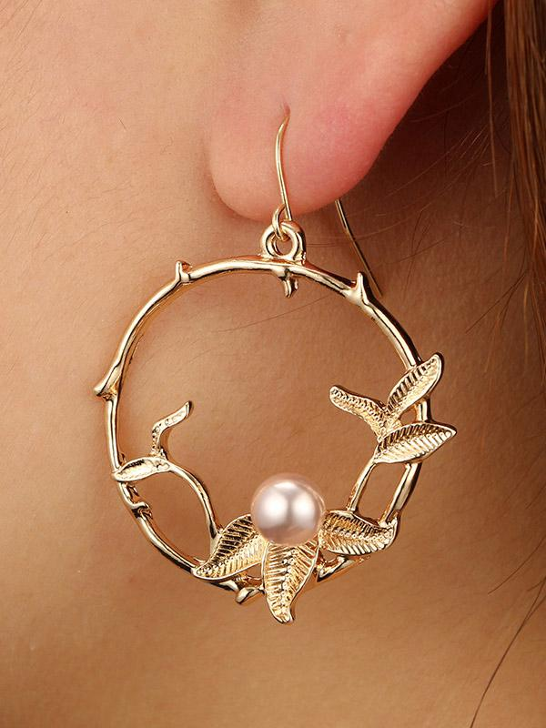 Fashion Simple Alloy Earrings Accessories
