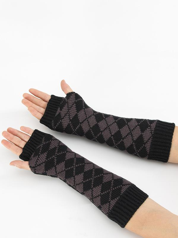 Knitted Hollow 3 Colors Sleevelet Accessories