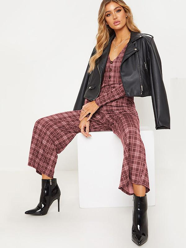 Fashion Long Sleeve Jumpsuits