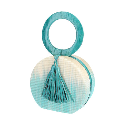 Nora Bag With Turquoise Gradient