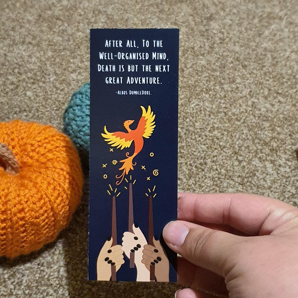 Dumbledore Quote Bookmark - Lazy Creative Ltd