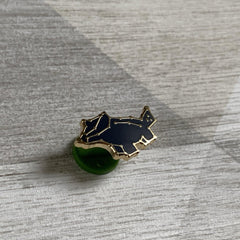 Hufflepuff Badger House Pin - Lazy Creative