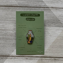 Load image into Gallery viewer, Lucky Charm Potion Pin - Lazy Creative