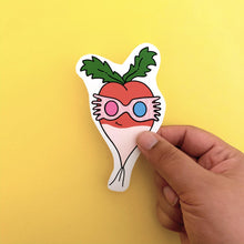 Load image into Gallery viewer, Luna Radish Sticker - Lazy Creative