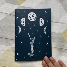 Load image into Gallery viewer, Moon Phase Notebook - Lazy Creative
