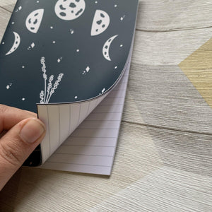 Moon Phase Notebook - Lazy Creative
