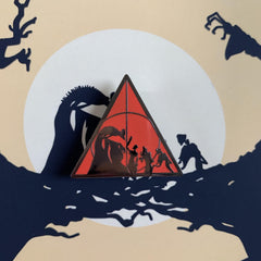 Red Deathly Hallows - Lazy Creative