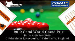See the Best Snooker Players in Action at 2019 Coral World Grand Prix