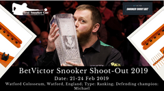 Enjoy the Live Action of BetVictor Snooker Shoot-Out 2019
