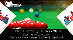 China Open Qualifiers 2019 – Witness the World's Top Snooker Players in Action
