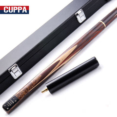 Cuppa Handmade Snooker Cue 3/4 11.5mm 9.8mm Tips with Snooker Cue Case 2 Options China