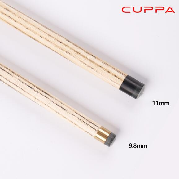 Cuppa N16 3/4 Snooker Cue Stick with Case with Extension 5A Maple Billiard Stick 9.8mm 11mm Tip Billiard Cue Snooker Stick Kit
