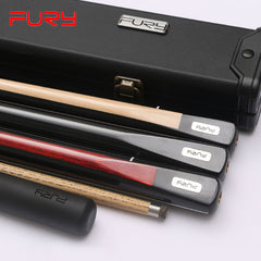 FURY MC 3 4 Snooker Cue 10mm Tips Ash Shaft 3 Butt Colors Options Snooker Cues Case Set China