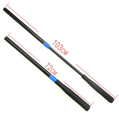 Scott Edward Snooker Cue Push-On Extension Billiard Snooker Accessories Black Color Plastic Telescopic