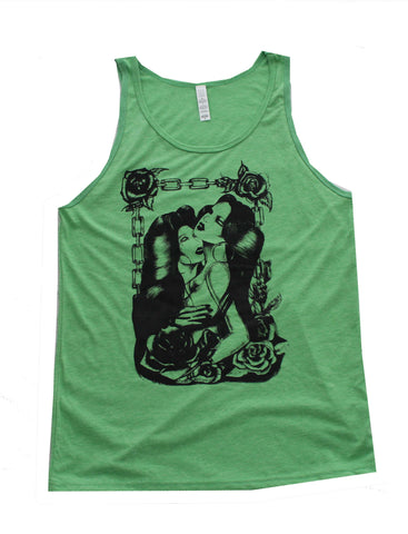 """Sweet Thing"" Men's Tank Top in Green"