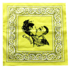"""Brown Sugar"" Bandana in Yellow"