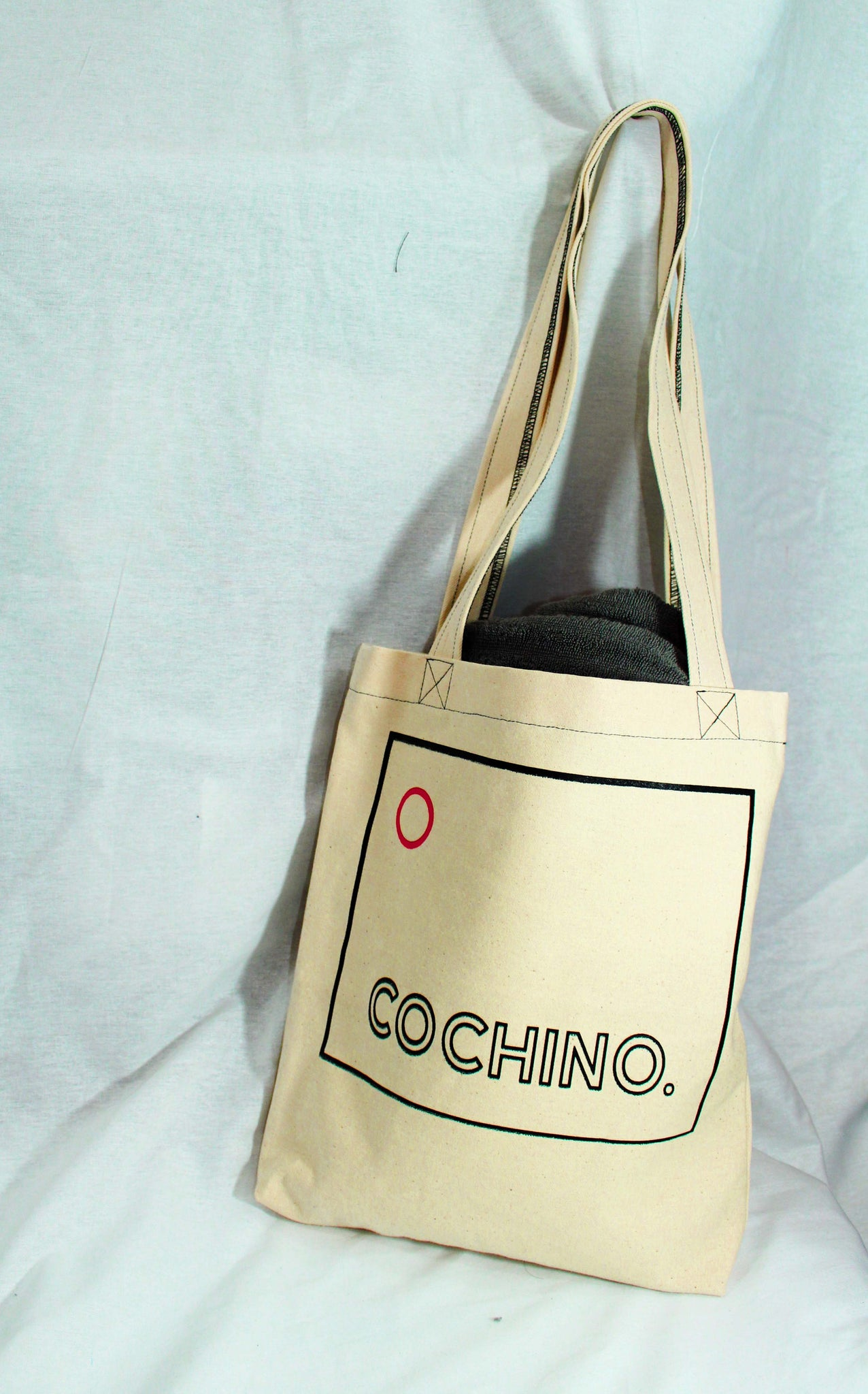"""OG Cochino"" Logo Canvas Fabric Tote"