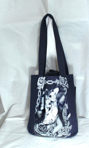 """Sweet Thing"" Designer Tote in Denim"