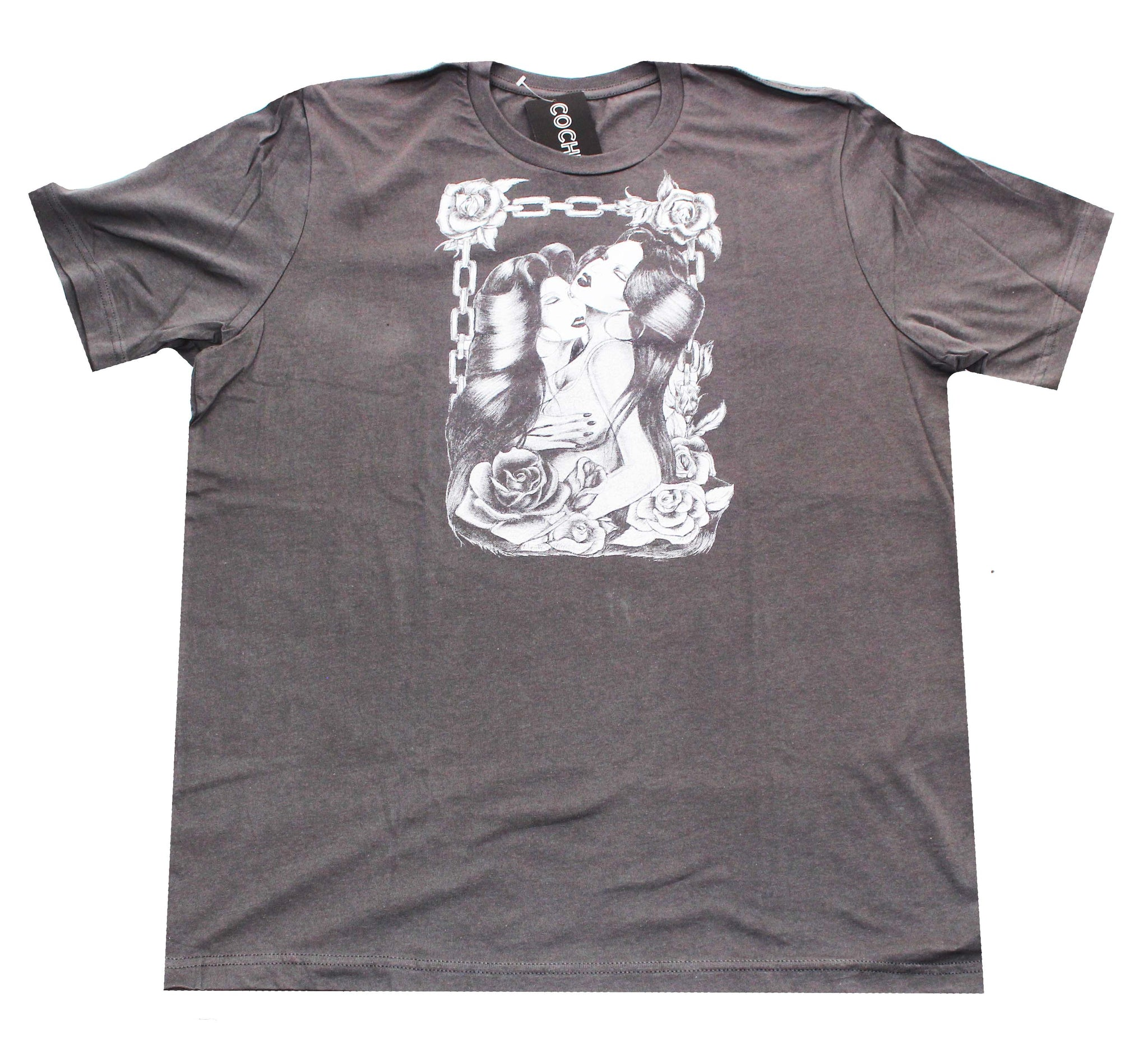 """Sweet Thing"" Men's T-shirt in Stone Grey"