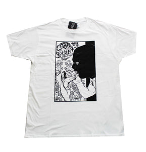 """Glory Hole"" Men's T-shirt in White"