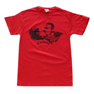 """Brown Sugar"" T-shirt in Red"