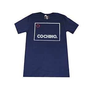 """OG Cochino"" Logo T-shirt in Navy Blue"