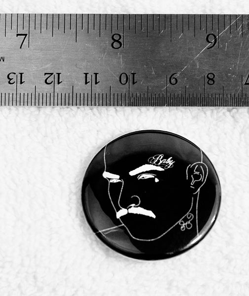 """Baby Boy"" 1 1/2"" Metal Pin"