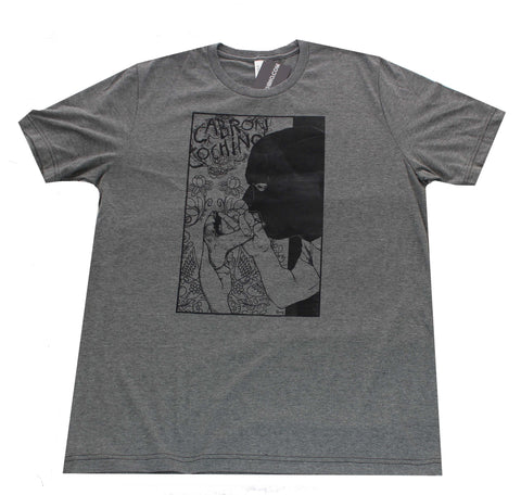 """Glory Hole"" Men's T-shirt in Dark Heather Grey"