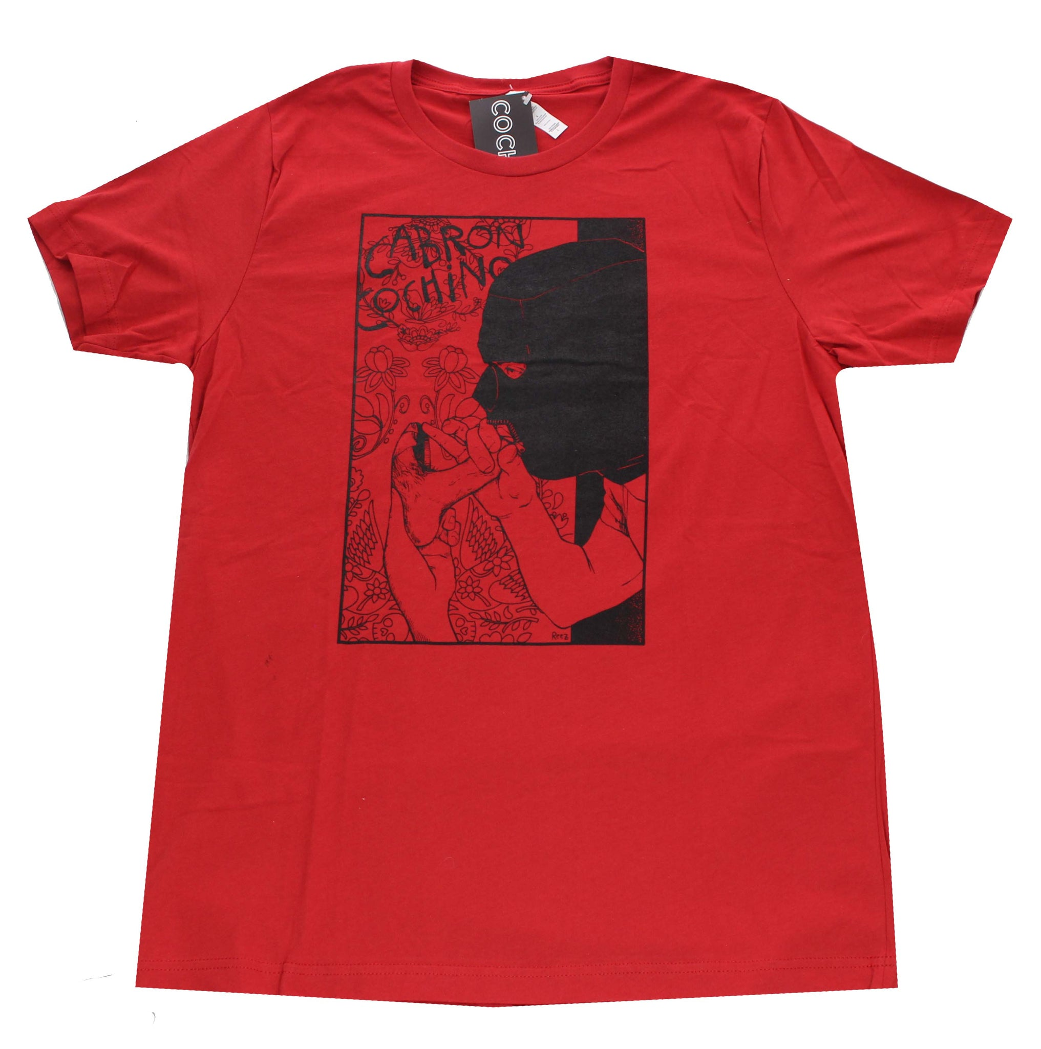 """Glory Hole"" Men's T-shirt in Red"