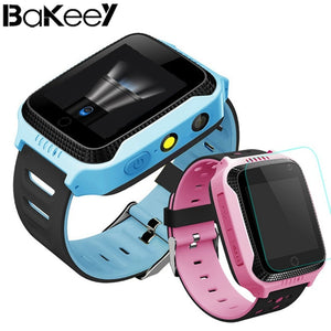 Bakeey Y21 Screen Touch Children Kid LBS SOS Call Location Device Tracker Smart Watch vs Q528 Voice Message Support  Pedometer