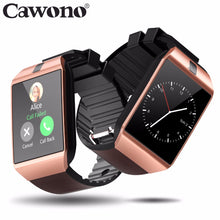 Load image into Gallery viewer, Cawono Bluetooth DZ09 Smart Watch Relogio Android Smartwatch Phone Call SIM TF Camera for IOS iPhone Samsung HUAWEI VS Y1 Q18