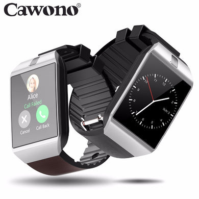 Cawono Bluetooth Smart Watch Smartwatch DZ09 Android Phone Call Relogio 2G GSM SIM TF Card Camera for iPhone Android VS A1 GT08