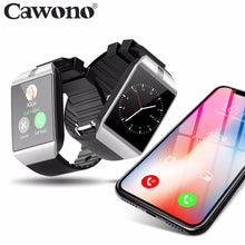 Load image into Gallery viewer, Cawono Bluetooth Relogio Smart Watch DZ09 Smartwatch Anti-lost SIM TF Card Wearable Devices with Camera for Apple Android VS Y1