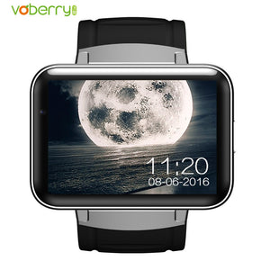 VOBERRY DM98 Smart Watch 2.2 inch IPS HD Smartwatch Phone Dual Core 512MB RAM 4GB ROM Android OS Camera 3G WCDMA GPS WIFI Watch