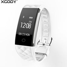 Load image into Gallery viewer, XGODY S2 Smart Bracelet Watch Waterproof IP67 Smartwatch with Heart Rate Monitor Remote Camera Sport Fitness Tracker Wristband