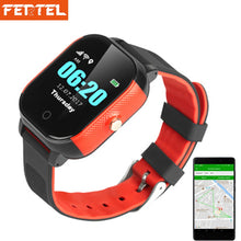 Load image into Gallery viewer, GPS Kids Watch Waterproof Smart Watchs SOS Call Baby Elderly Location Finder Children Anti Lost Tracker