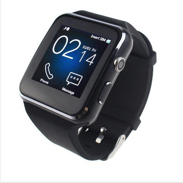 EPULA X6 Smart Watch with Camera Touch Screen Support SIM TF Card Bluetooth Smartwatch for iPhone Xiaomi Android Phone
