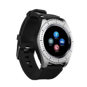 EPULA New 2G Z3 Bluetooth3.0 Smart Watch For Men Support SIM and TFcard  Fitness Tracker  Answer Call Camera For Android Phone