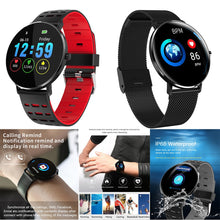 Load image into Gallery viewer, L6 1.22Inch Color Full Screen IP68 Waterproof Heart Rate Monitor Smart Watch Men Women Smartwatch Watches Fitness Bracelet watch