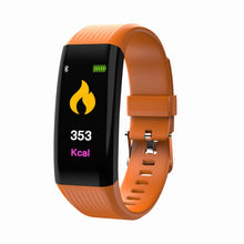 Load image into Gallery viewer, Bluetooth Smart Watch Sport Pedometer Heart Rate Activity Step Counter Calorie Plating Smart Bracet For Kids Women Men
