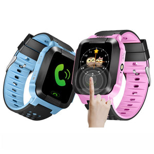New Child Smart Watch Kids Wristwatch Waterproof Baby Watch With SOS Remote Monitoring Dual Positioning SIM Calls Pedometer