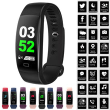 Load image into Gallery viewer, 2018 New BT4.0  Blood Oxygen  Smart Color Screen Blood Pressure Exercise Heart Rate Pedometer  Healthy Smart Watch Dropshipping