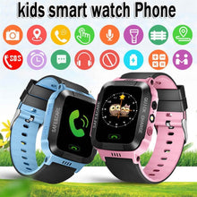 Load image into Gallery viewer, GPS Kid Smart Watch Baby Anti-lost Watch Touch Screen SOS Call Location Device Tracker for Children Safe Monitor