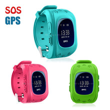 Load image into Gallery viewer, Smart watches Q50 passometer kids Children watches smart baby watch q50 with GPS second generation chip SOS Call Location Finder