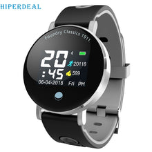 Load image into Gallery viewer, HIPERDEAL Y6 Plus Smart Watch Blood Pressure Heart Rate Watch Sport Mode Smart Wristband Men Women Round Display Bracelet #D