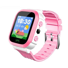 Load image into Gallery viewer, Smart Watch with GSM Locator Screen Tracker SOS for Kids Children EnglIsh Smartwatch Watches phone 2G SIM Fitness